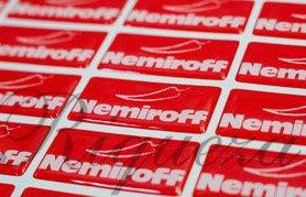Шильды киев, изготовление шильдов Nemiroff